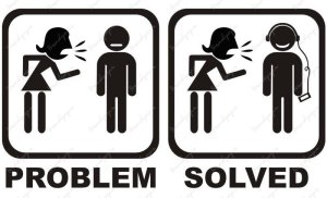 Sometimes it's better to avoid something. Avoid can be a solution